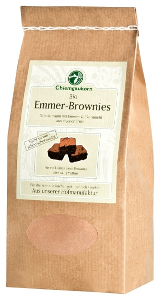 Emmer-Brownies Schokotraum, Backmischung