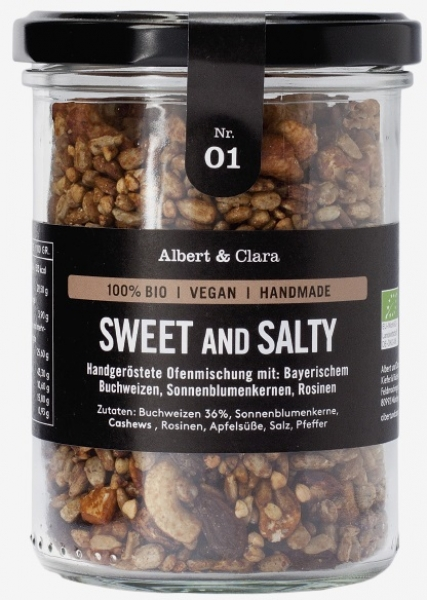 SWEET AND SALTY, 240 g von Albert & Clara