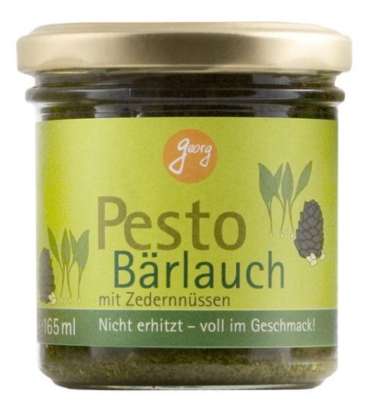 Pesto Bärlauch, 165 ml, Georg